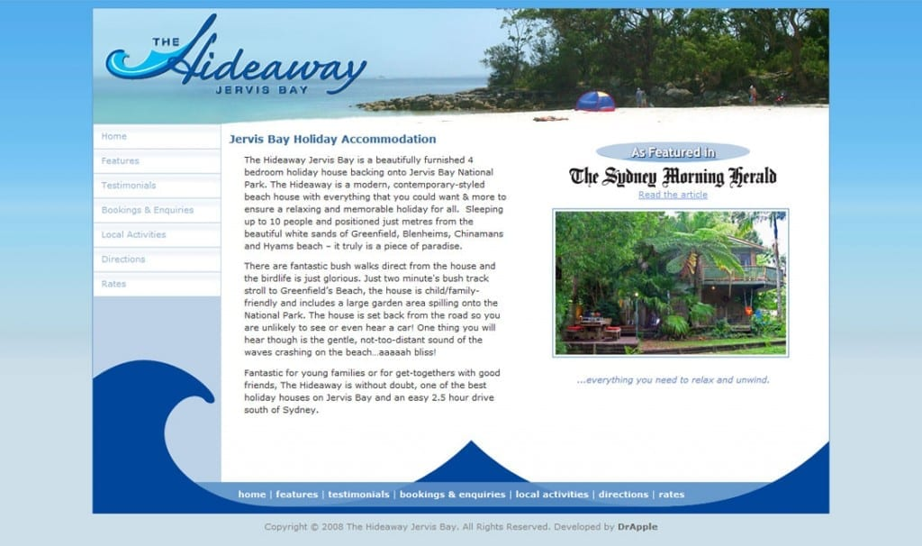 The Hideaway Jervis Bay