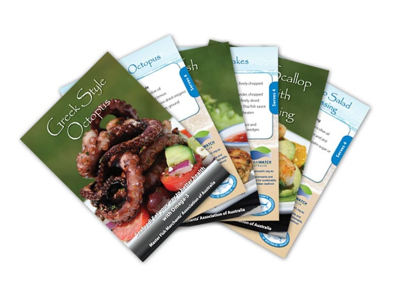 Master Fish Merchants Recipe Cards