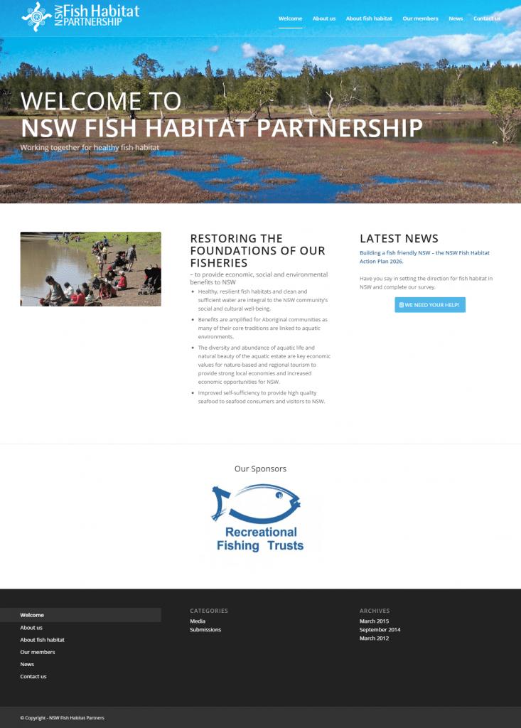 NSW Fish Habitat Partnership