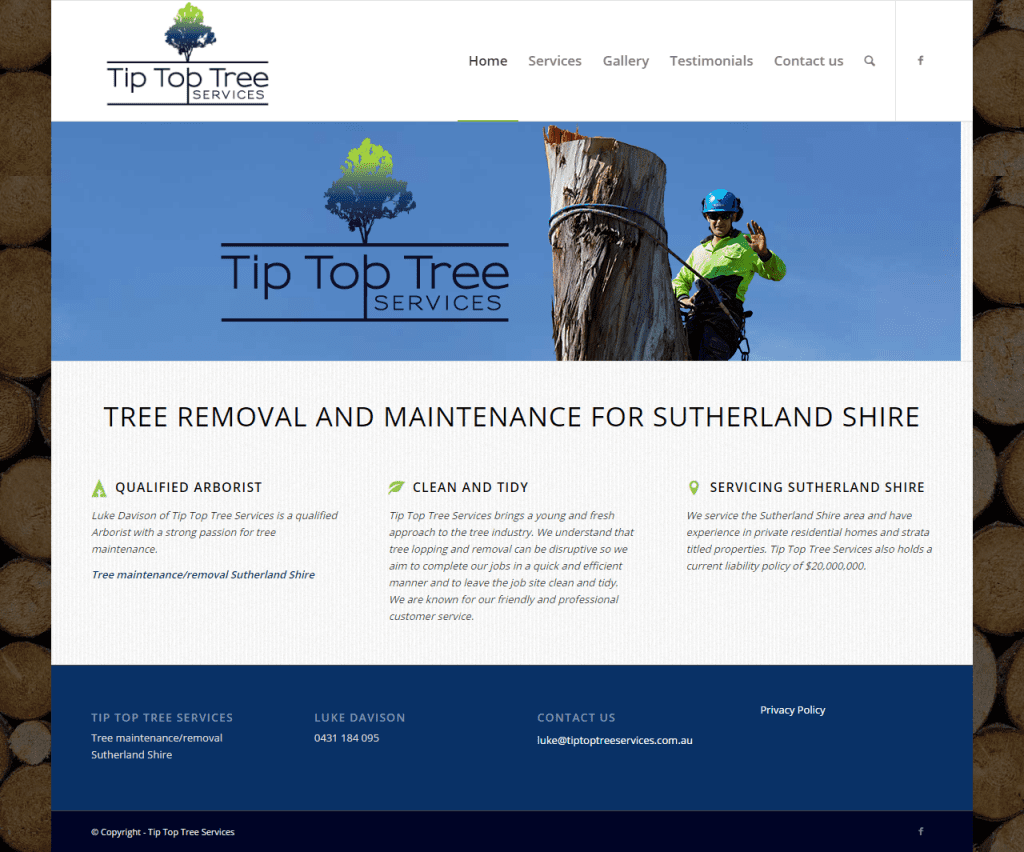 Tip Top Trees Services